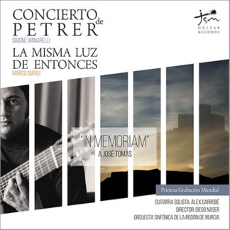 Portada CD Concierto de Petrer Publicado por Jsm Guitar Records