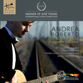 Portada CD EL viaje de la Guitarra Publicado por Jsm Guitar Records