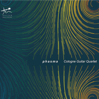 Portada CD Phasma por Cologne Guitar Quartet