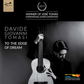 Portada CD To the edge of dream por Davide Goivanni Tomasi