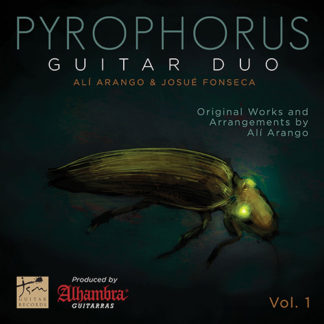 Portada CD Vol.1 de Pyrophorus Guitar Duo